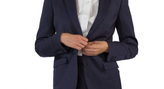 Wear a properly fitting suit