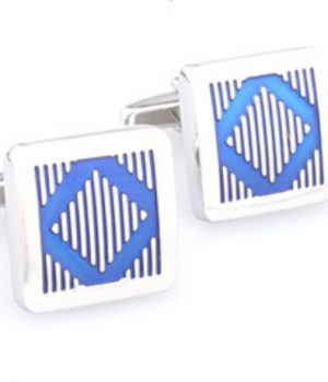 Blue Diamond Cufflinks