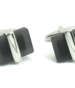 Centred Stone Cufflinks