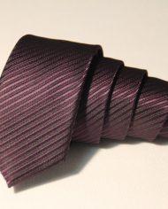 Dark Purple narrow tie