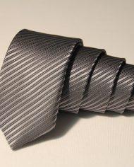 Gunmetal  narrow tie