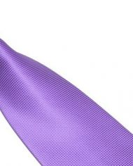 Lilac Lattice Silk Tie