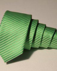 Lime Green  narrow tie