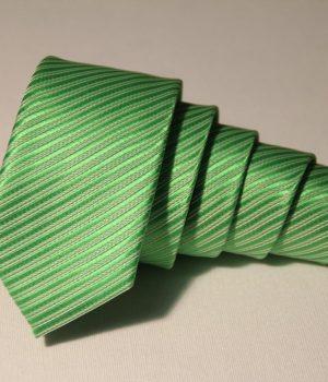 Lime Green narrow tie
