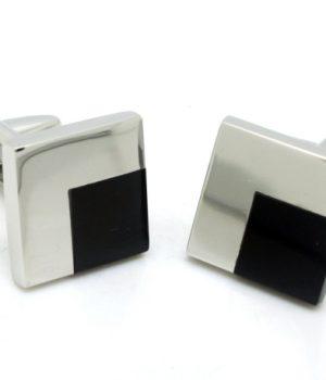 Onyx Corner Cufflinks