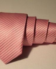 Pink  narrow tie