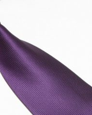 Purple Lattice Silk Tie