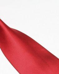 Red Lattice Silk Tie