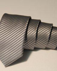 Silver  narrow tie