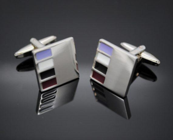 Swatch Silver Cufflinks