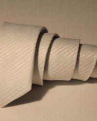 White  narrow tie