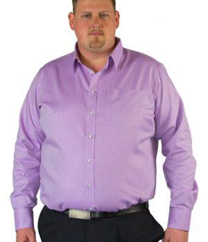 fuscia herringbone mens shirt